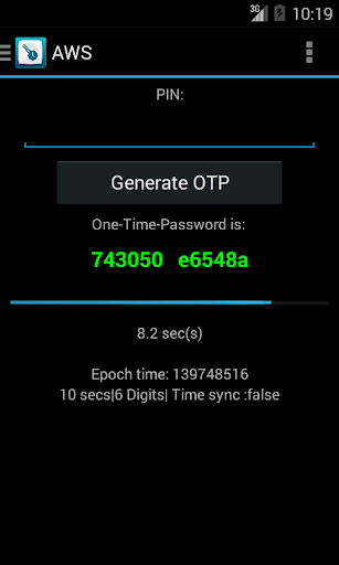 Mobile OTP