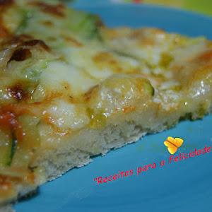 Green Zucchini Pizza
