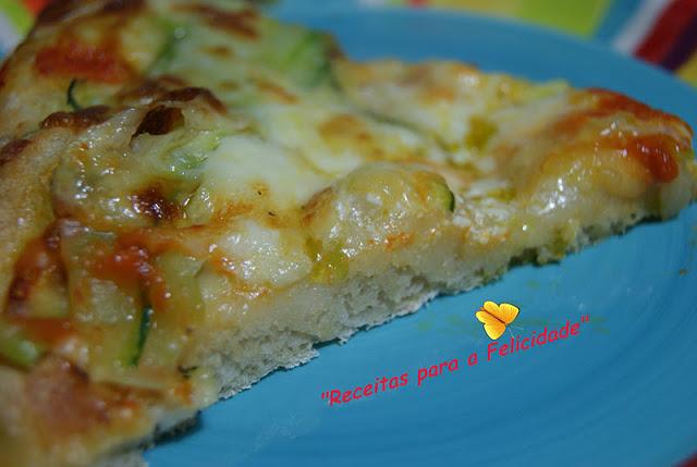 Green Zucchini Pizza Recipe