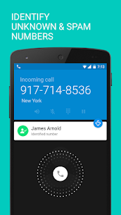 Caller ID +- screenshot thumbnail