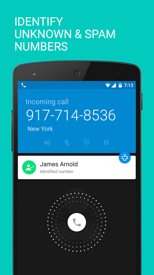 Call log + | Caller ID - screenshot