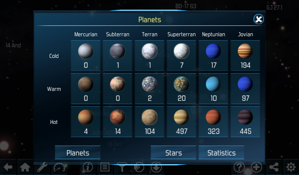 Exo planets Explorer 3D HD- screenshot