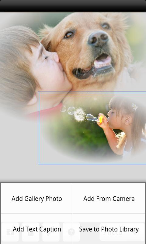 PhotoTangler Collage Maker - screenshot