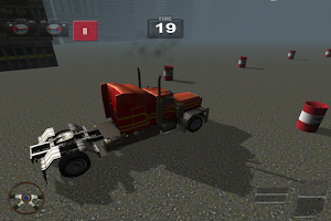 Screenshot of Truck Racing Simulator Free