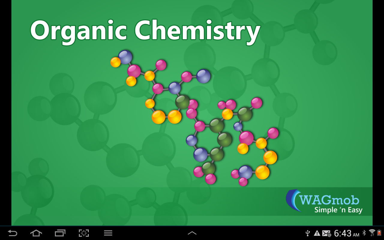Organic Chemistry by WAGmob - screenshot