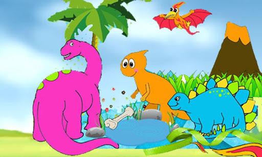 Puzzle Funny Dinos
