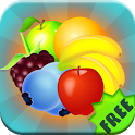 Match Three Fruits - Free icon