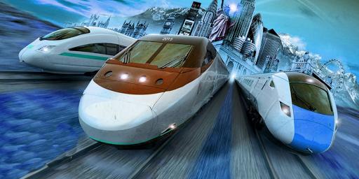 Black Train Snow
