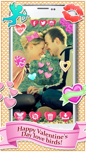 玩免費攝影APP|下載情人节 照片贴纸 app不用錢|硬是要APP