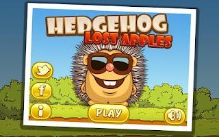 Screenshot of Hedgehog – Lost apples