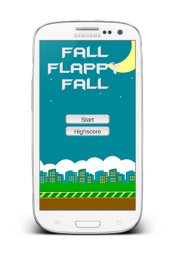 【免費休閒App】Fall Flappy Fall Premium-APP點子