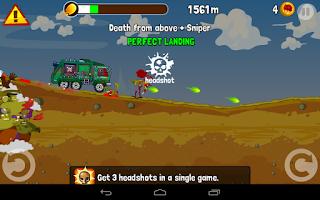 Screenshot of Zombie Road Trip