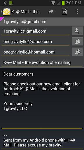 K-@ Mail Pro - email evolved v1.31 APK