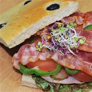 Focaccia Sandwich.
