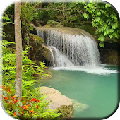 Tropical waterfall Video LWP