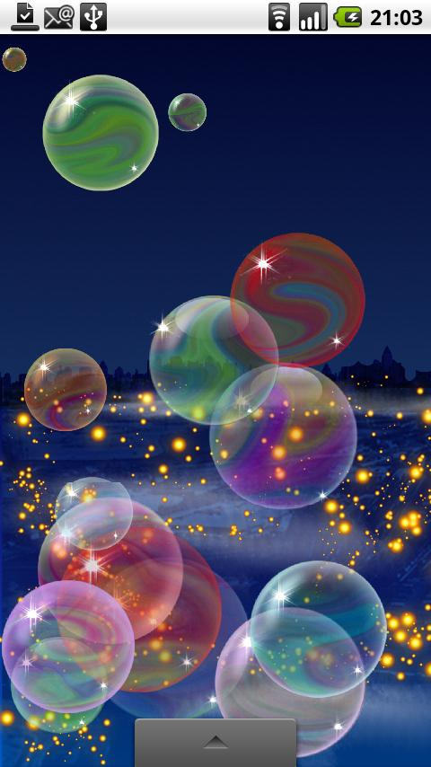 Nicky Bubbles Live Wallpaper- screenshot