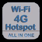 Wi-Fi Hotspot Mobile Data icon
