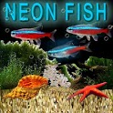 Aquarium Neon Fish Free icon