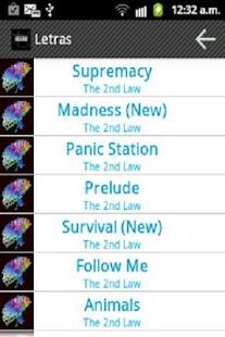 Muse Fan screenshot