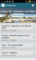 Screenshot of Guide Alger