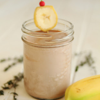 BANANA SMOOTHIE.