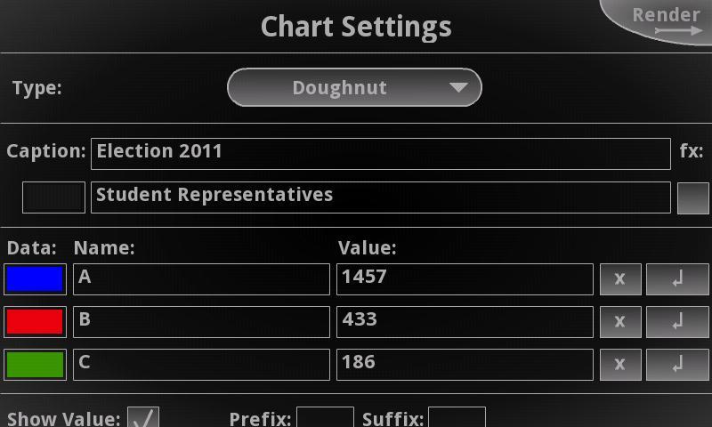 3D Charts Pro - screenshot