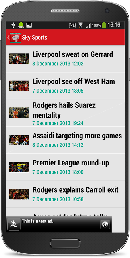 Liverpool Football News - screenshot