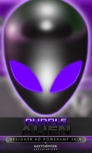 后皮肤外星人紫色