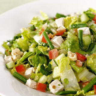 Chopped Salad for One.